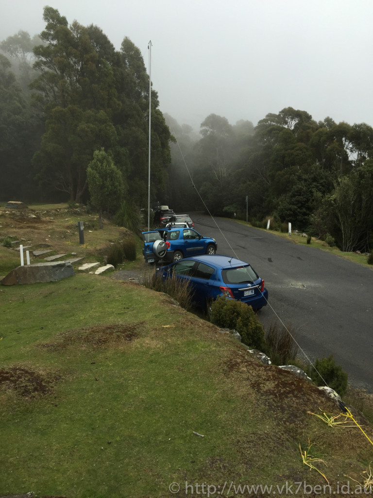 Portable Station, The Springs, Mount Wellington
